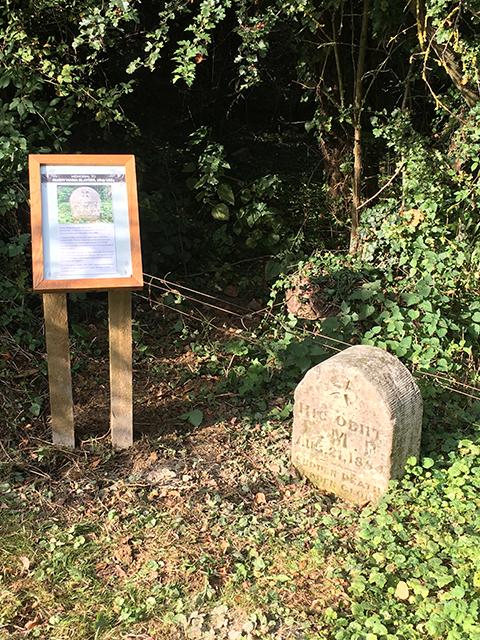 Fanny Blaydes memorial