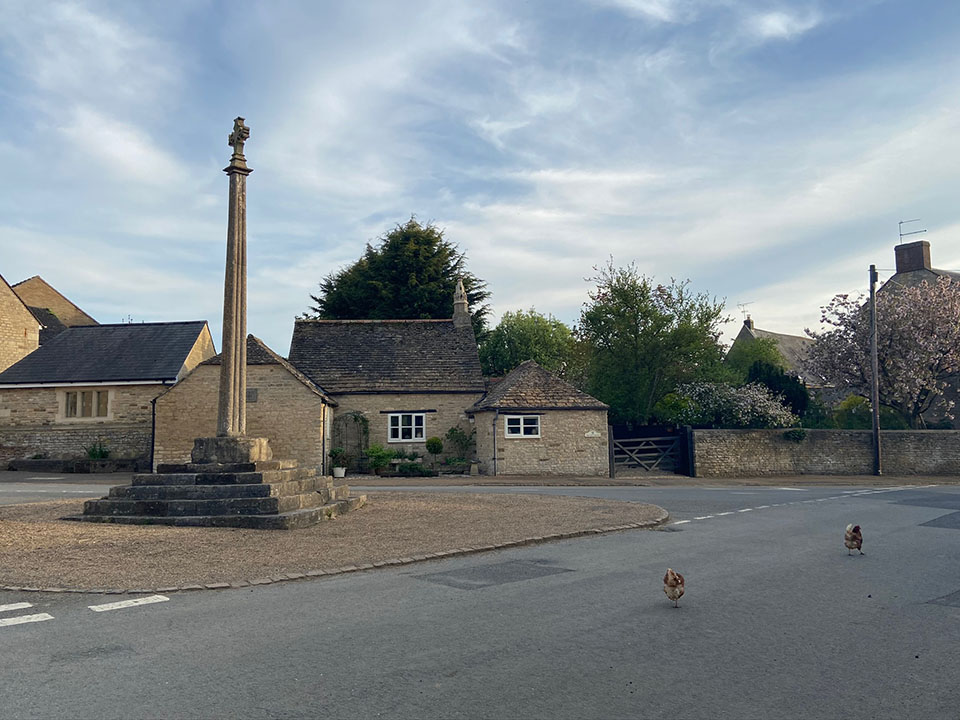 Harringworth Village Cross