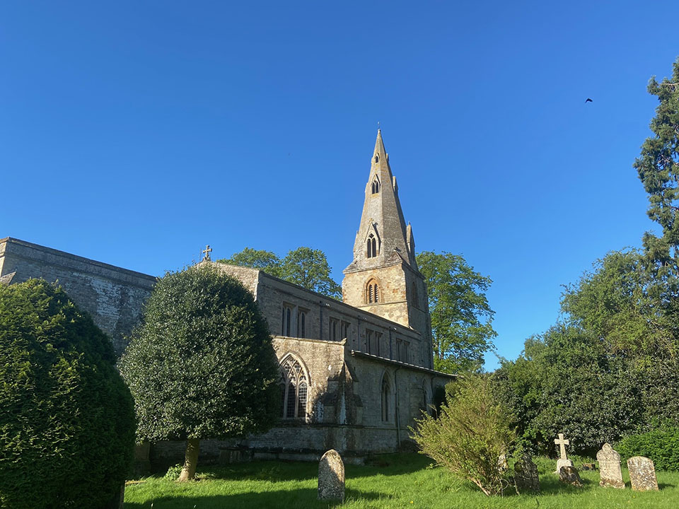 Harringworth church